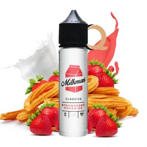 Strawberry Churrios - Churro y Frutillas milkman