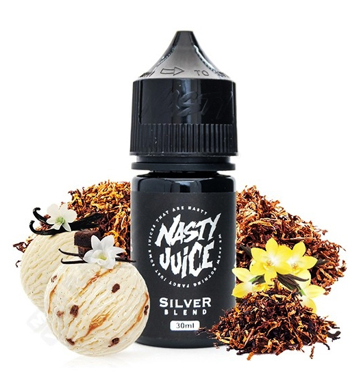 sal de nicotina silver tabaco vainilla