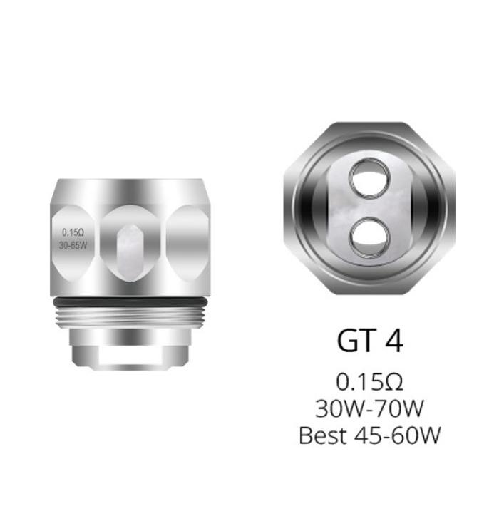 resistencias gt4 coil