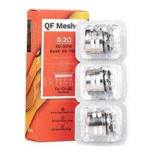 pack resistencias qf mesh